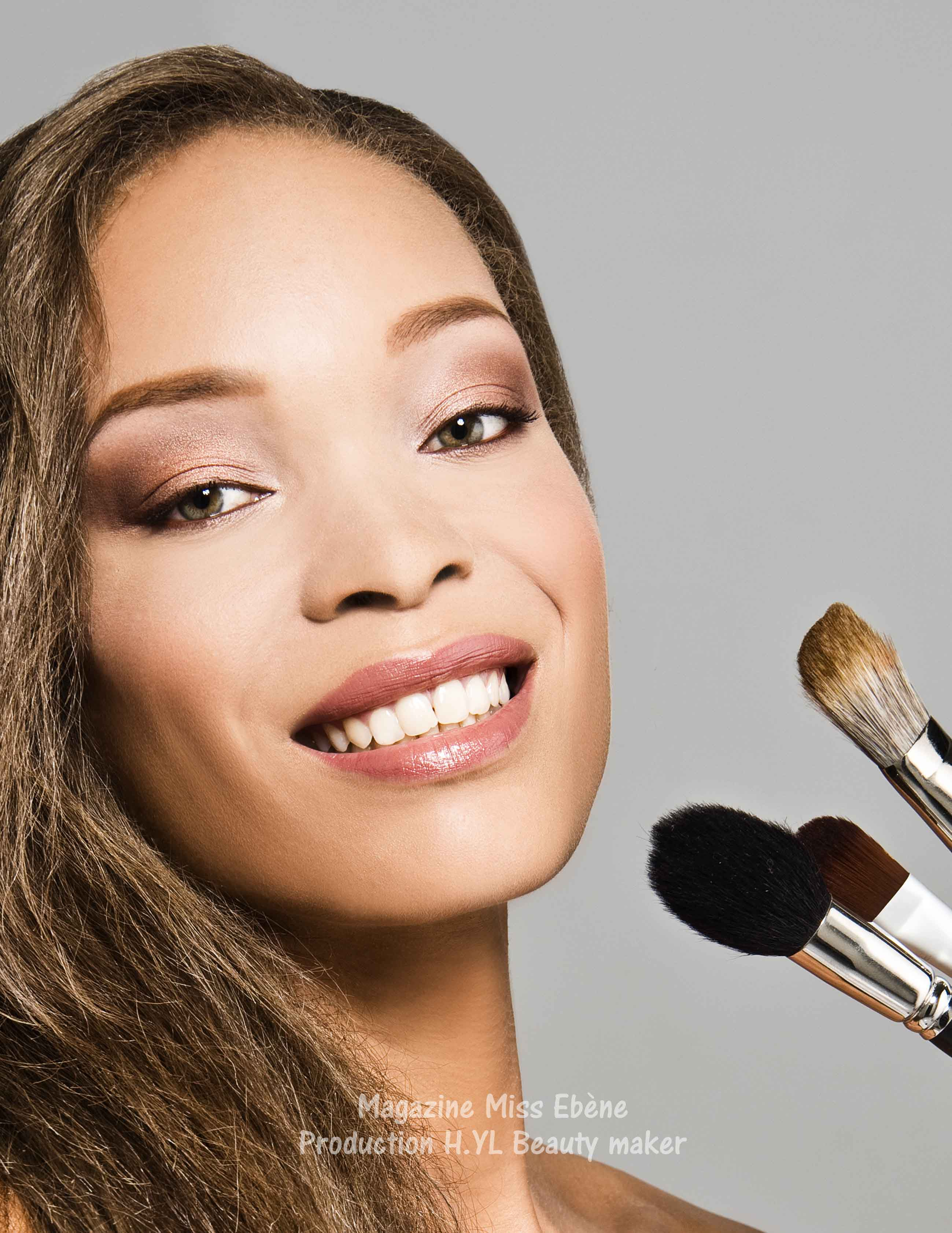 Maquillage de mannequin femme